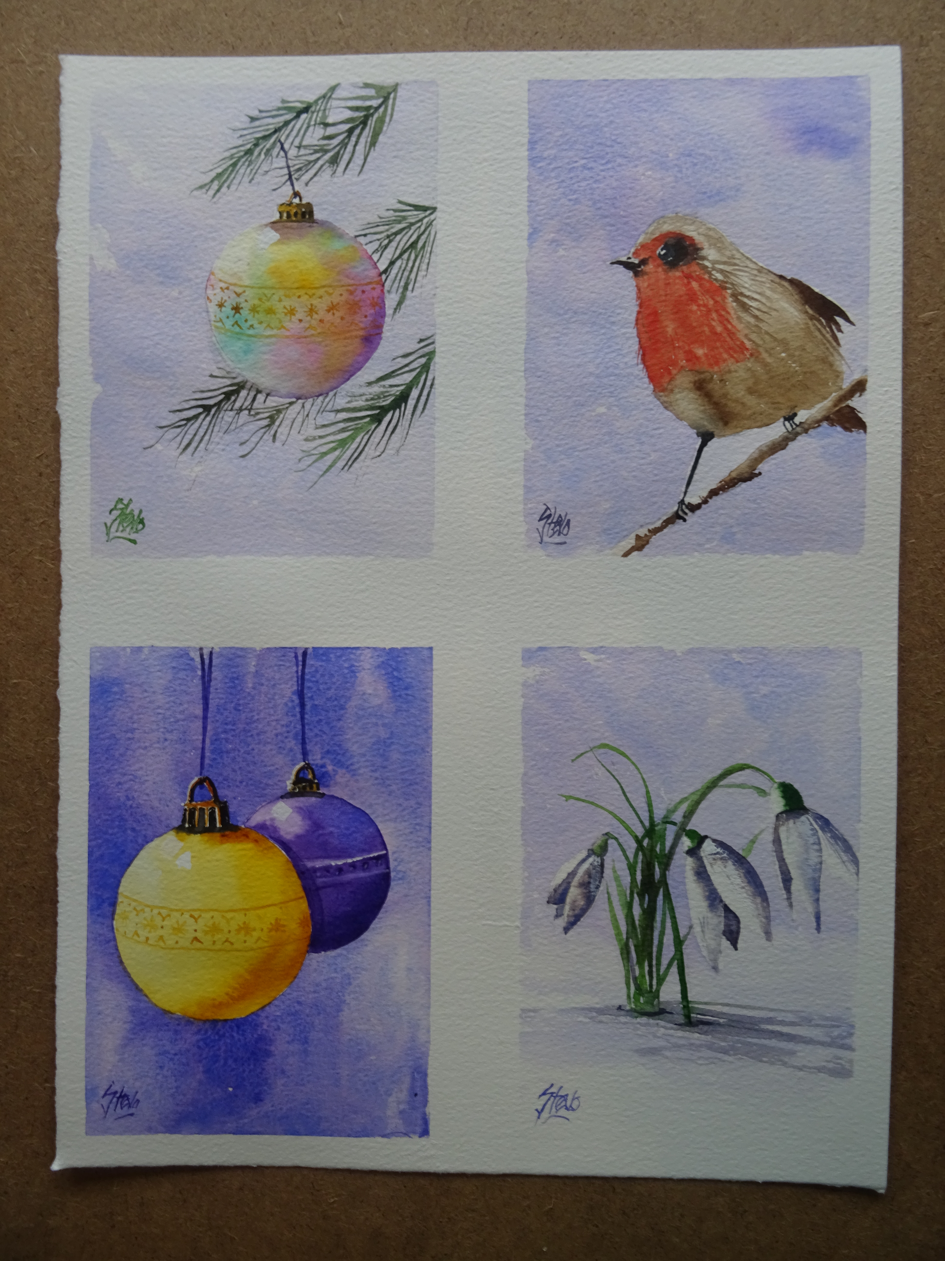 How to make your own Christmas Cards | Artstevo\'s Blog